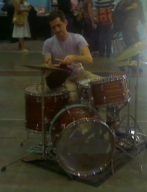 Knitting Drummer