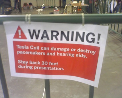 Waring - Telsa Coils