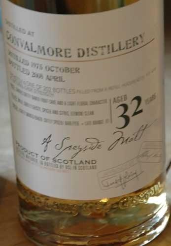 Birthday Scotch - 32 Years